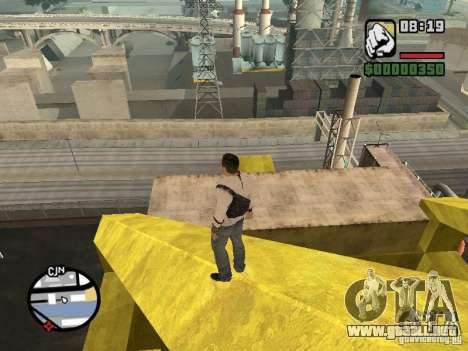 Desmond Miles para GTA San Andreas quinta pantalla