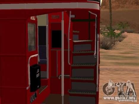 AEC RouteMaster RML para visión interna GTA San Andreas