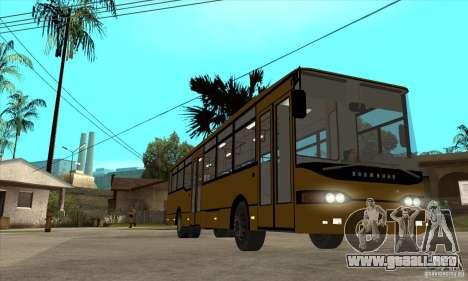 Volzhanin 52702 para GTA San Andreas vista hacia atrás