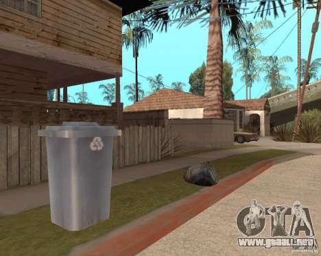 Remapping Ghetto v.1.0 para GTA San Andreas octavo de pantalla