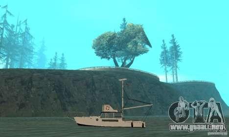 Reefer GTA IV para GTA San Andreas vista posterior izquierda