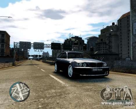 BMW 320i E46 v1.0 para GTA 4 vista interior