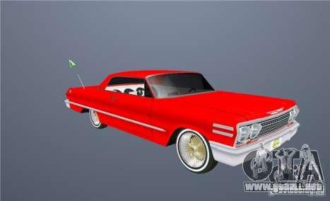 Voodoo para GTA San Andreas interior