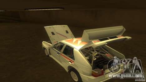 Citroen BX 4TC para visión interna GTA San Andreas
