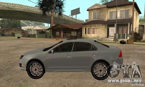 Ford Fusion V6 DUB 2011 para GTA San Andreas left