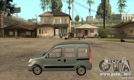 Renault Kangoo 2005 para GTA San Andreas left