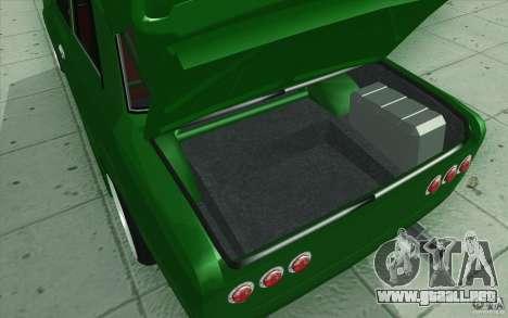 Deporte Lada VAZ-2101 para GTA San Andreas interior