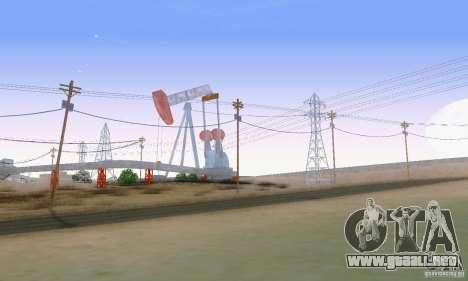 ENBSeries by dyu6 v6.0 para GTA San Andreas octavo de pantalla