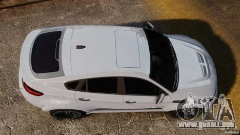 BMW X6 Hamann Evo22 no Carbon para GTA 4 visión correcta