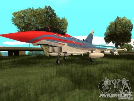 Eurofighter Typhoon para GTA San Andreas