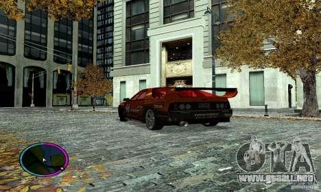 Mazda RX-7 FC for Drag para GTA San Andreas vista hacia atrás