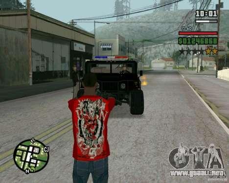 Nuevo Sheriff para GTA San Andreas segunda pantalla