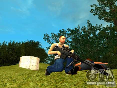 Accuracy International AS50 para GTA San Andreas tercera pantalla