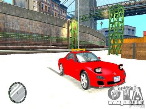 Mazda RX-7 Type RZ para GTA 4 visión correcta