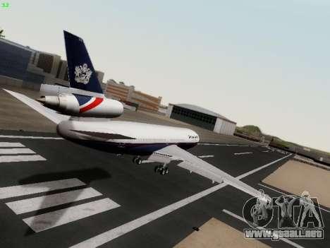 McDonell Douglas DC-10-30 British Airways para la visión correcta GTA San Andreas