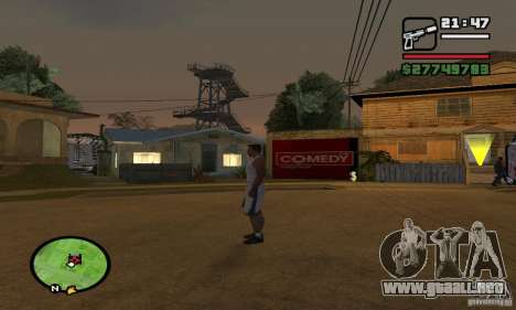 Base GROOVE Street para GTA San Andreas tercera pantalla