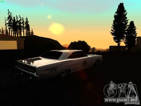 ENBSeries by AlexKlim para GTA San Andreas octavo de pantalla