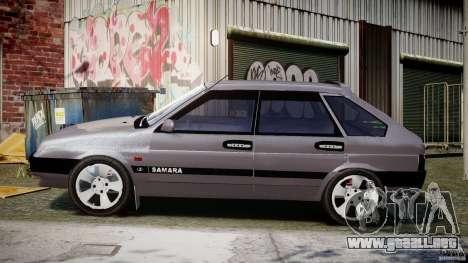 Vaz-2109 Samara 1999 para GTA 4 left