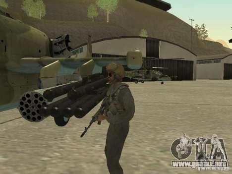 Ka-50 Black Shark para la visión correcta GTA San Andreas
