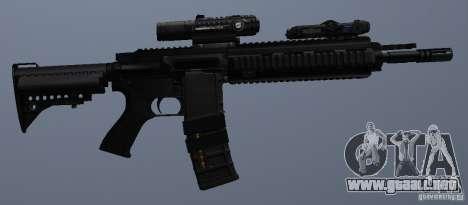 Rifle HK416 para GTA San Andreas sexta pantalla