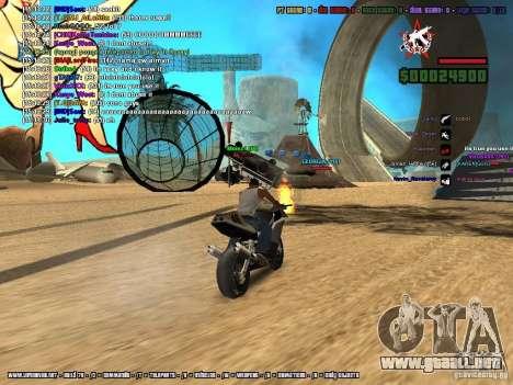 SA:MP 0.3d para GTA San Andreas undécima de pantalla