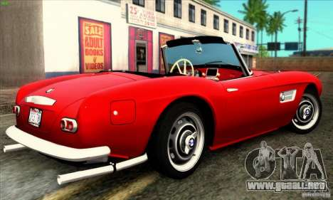 BMW 507 para GTA San Andreas left
