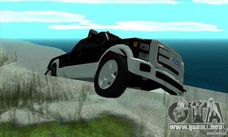 FORD F450 SUPER DUTE para la visión correcta GTA San Andreas
