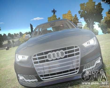 Audi A6 Avant Stanced para GTA 4 left
