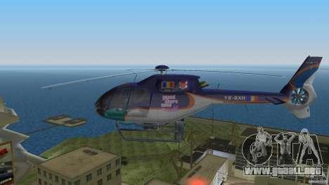 Eurocopter Ec-120 Colibri para GTA Vice City visión correcta