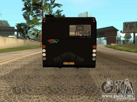 Trailer de Liaz 6213.70 para GTA San Andreas left