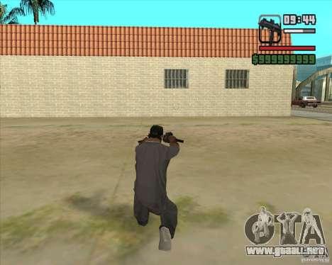 New Micro uzi HD para GTA San Andreas tercera pantalla