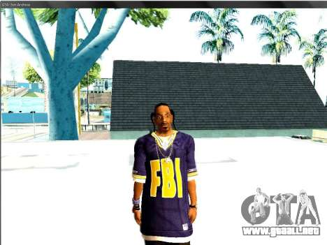 Snoop DoG del FBI. para GTA San Andreas segunda pantalla