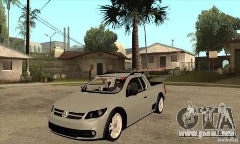 Volkswagen Saveiro G5 para GTA San Andreas