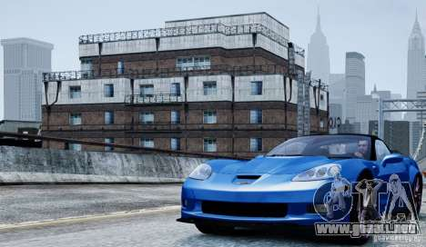 Chevrolet Corvette ZR1 para GTA 4 vista interior