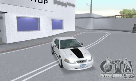 Ford Mustang GT 2003 para visión interna GTA San Andreas
