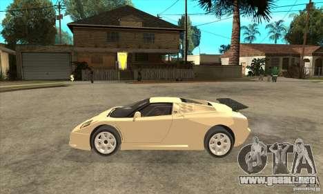 Bugatti EB110 SS 1992 para GTA San Andreas left