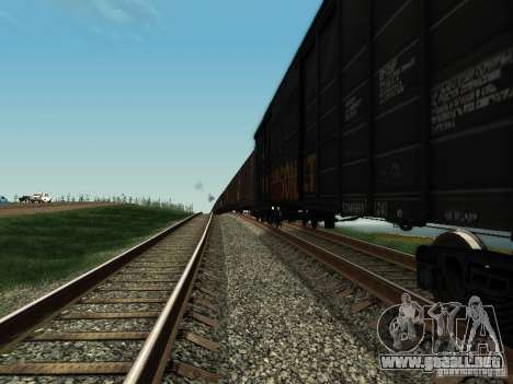 Boxcar para GTA San Andreas left