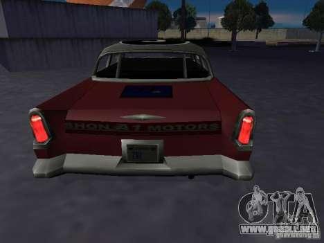 Bloodring Banger (A) de Gta Vice City para GTA San Andreas vista posterior izquierda