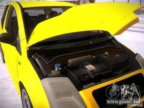 Citroen C2 para visión interna GTA San Andreas