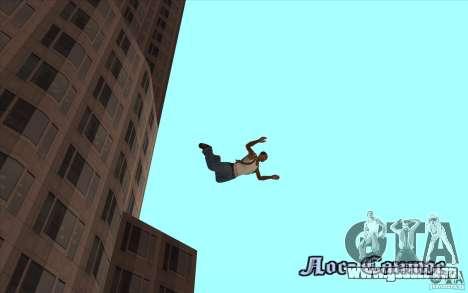 Paracaídas para GTA San Andreas quinta pantalla
