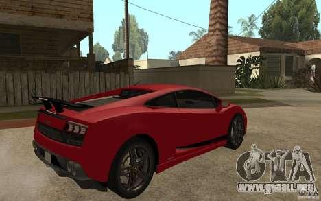 Lamborghini Gallardo LP 570 4 Superleggera para la visión correcta GTA San Andreas