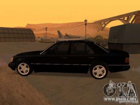 Mercedes-Benz E250 V1.0 para la vista superior GTA San Andreas