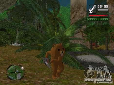 Crazy Bear para GTA San Andreas tercera pantalla