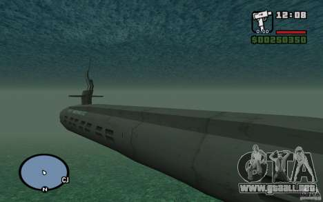 Submarino para GTA San Andreas