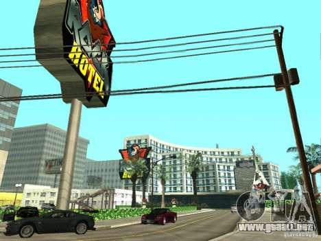 Nuevas texturas para V-Rock para GTA San Andreas