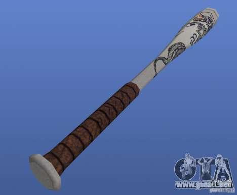Baseballschlager (The bat) para GTA 4 segundos de pantalla
