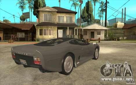 Jaguar XJ 220 para la visión correcta GTA San Andreas