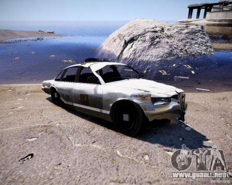 Russian NOOSE Cruiser para GTA 4 vista hacia atrás