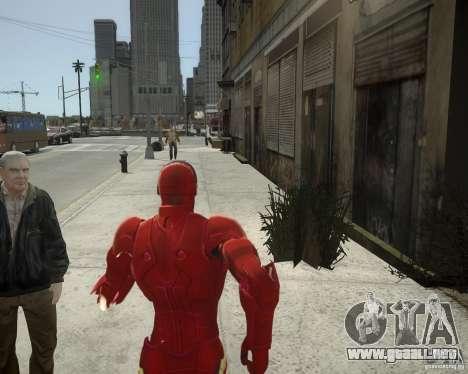 Iron Man Mk3 Suit para GTA 4 sexto de pantalla