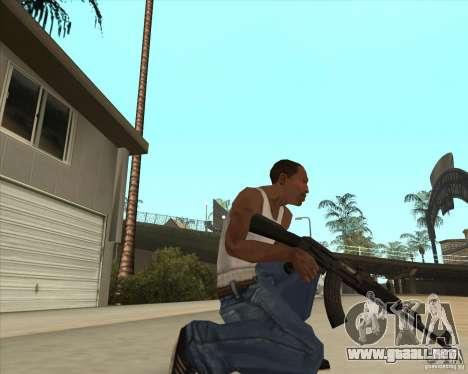 AK-47 HD para GTA San Andreas tercera pantalla